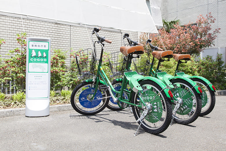 "Bicycle Sharing Service ""Cogoo"""